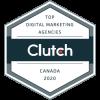 The Clutch.co top Digital Marketing Agencies Logo